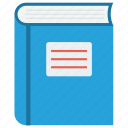 book, education, log, notebook icon icon