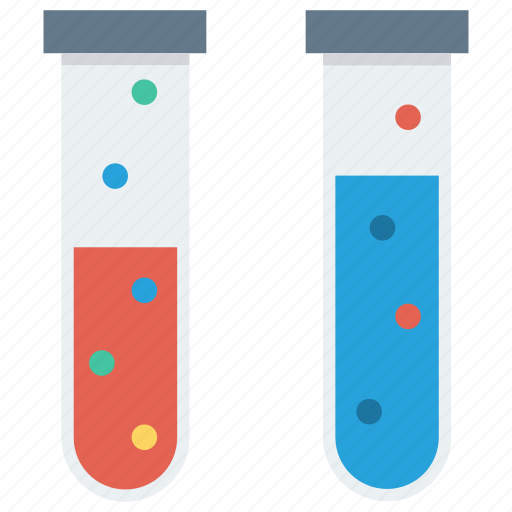 flask, laboratory, test, tube icon icon