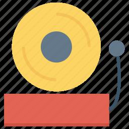 alarm, bell, fire alarm, school alarm icon icon