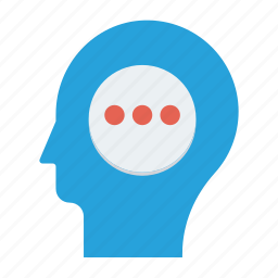 head, ideas, improve, mind, resolutions icon, • fresh idea icon