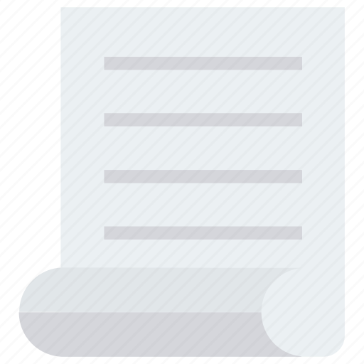 document, letter, note, paper icon icon