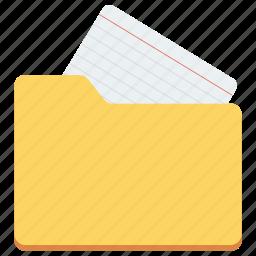 data folder, data icon, document, folder, medical folder icon