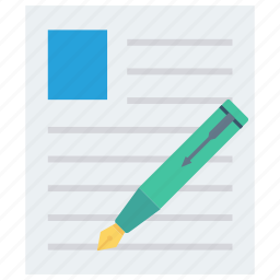 note sheet, paper, writing, writing paper, writing sheet icon icon