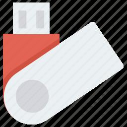 drive, flash, memory, stick, storage, usb icon, • data icon