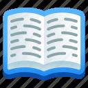 booklet, handbook, book, guidebook, textbook icon