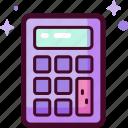 calculator, math, accounting, calculate, calculation, education