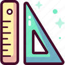 ruler, measure, scale, education, science, laboratory, knowledge