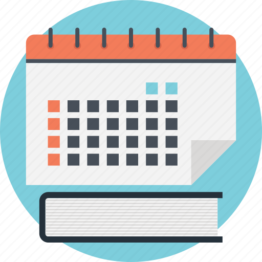 Calendar notes, diary, diary planner, schedule, timetable icon - Download on Iconfinder
