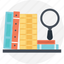 audit log, document tracking, files search, review document, view document icon