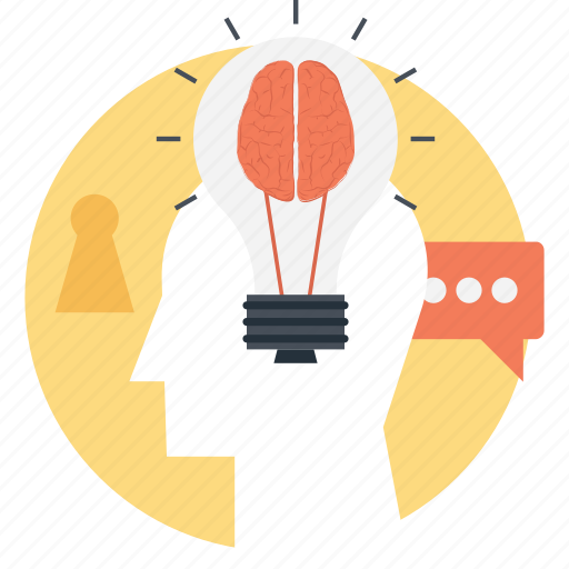 Bright idea, bulb mind, creative idea, genius, intelligent icon - Download on Iconfinder