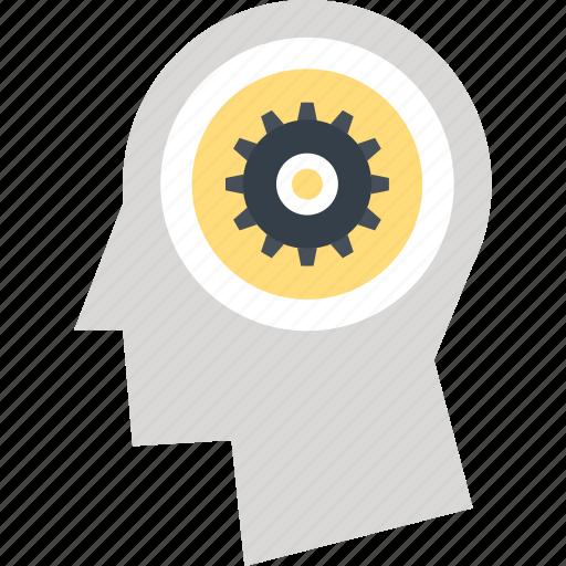 brain, brainstorming, creative, education, process, thinking, training icon