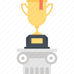achievement, cup, prize, reward, success, trophy, win icon