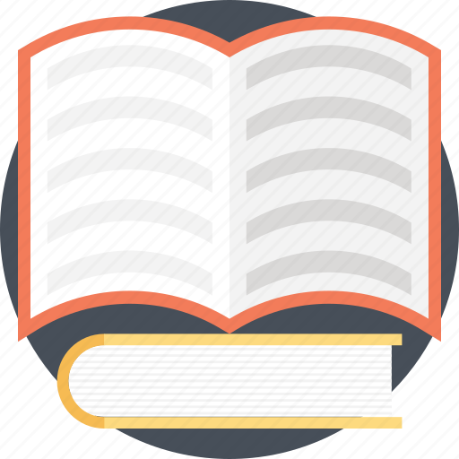 education, learning, literature, open book, study icon
