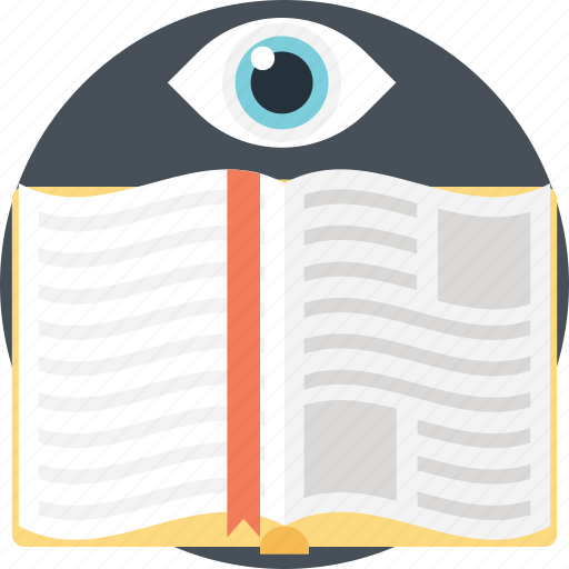 knowledge, learning, opened book, reading, study icon