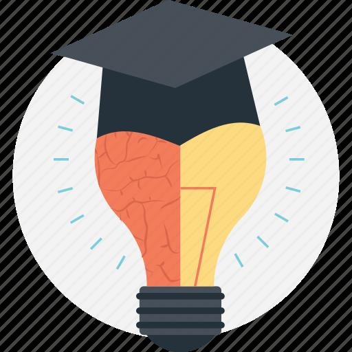 bright future, creative education, education inspiration, ingenious, motivation icon