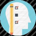 mind checklist, mindplan, mindplan list, mindset, skill icon