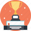 achievement, award, educational reward, prize, trophy icon