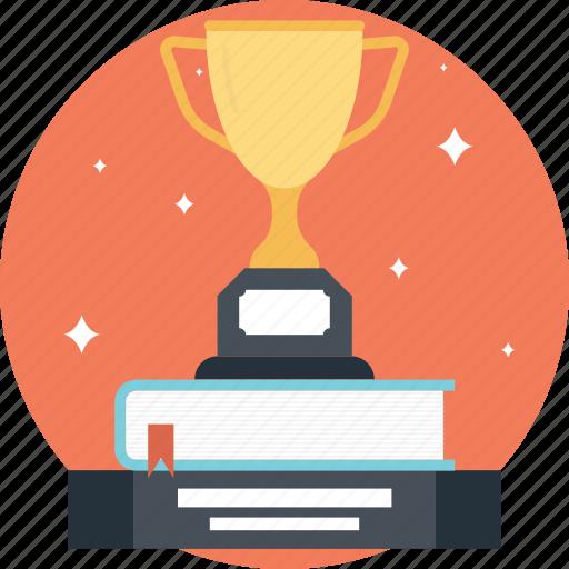 achievement, award, educational reward, prize, trophy icon