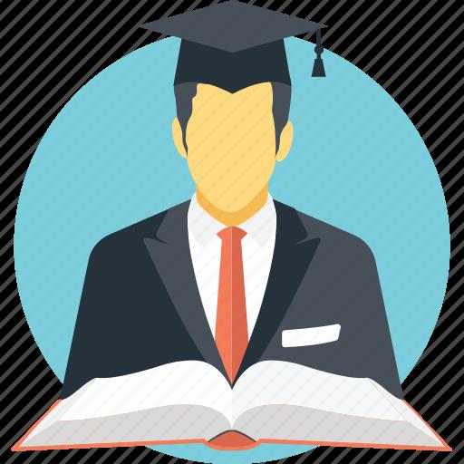 alumni, graduate, graduation, scholer, student icon