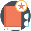 book rating, favorite book, goodreads, interesting book, popular book icon