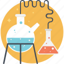 biotechnology, chemistry, lab experiment, science icon