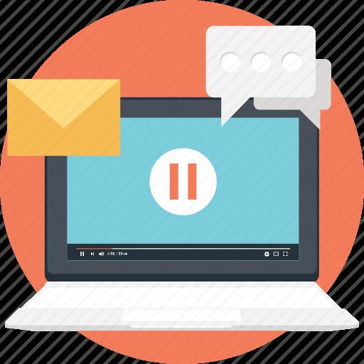 email marketing, online marketing, social communication, social media, social network icon