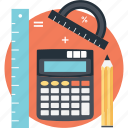 accounting, calculation, estimation, math, mathematics icon