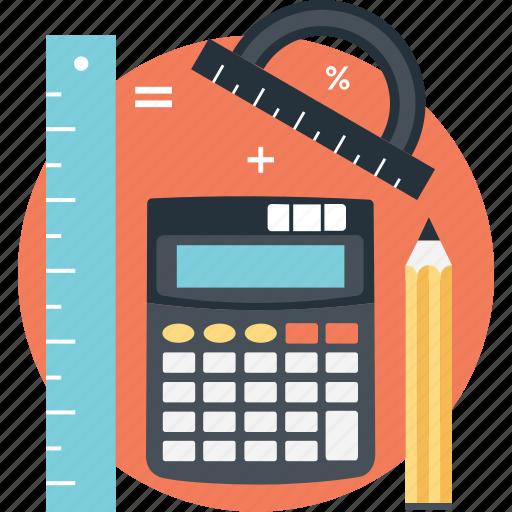 accounting, calculation, estimation, math, mathematics icon