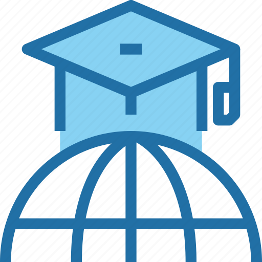 Education, global, hat, learning, school icon - Download on Iconfinder