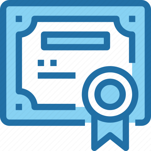 Certificate, education, learning, paper, school icon - Download on Iconfinder