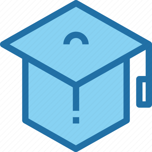 Education, graduation, hat, learning, school icon - Download on Iconfinder