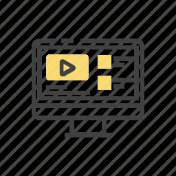 communication, connection, course, internet, online icon
