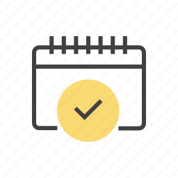 appointment, class, event, time, timetable icon