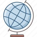 college, country, globe, national, planet, university, world icon