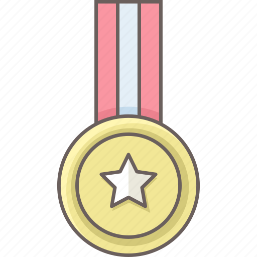 achievement, badge, medal, school, star, university, winner icon