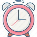alarm, alert, clock, time, timer, warning, watch icon