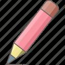 pencil, creative, design, draw, edit, shape, write