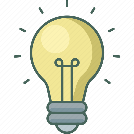 bulb, electric, electricity, energy, light, power icon