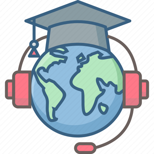 book, distance, education, higher, learning, studies, study icon