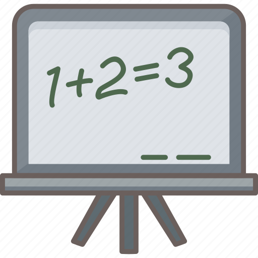 Classroom, math, maths, education, knowledge, learning, mathematics icon - Download on Iconfinder