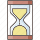 hourglass, plan, sandglass, schedule, stopwatch, time, timer icon