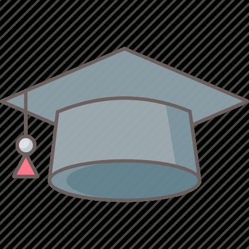 Cap, hat, university, college, education, graduation, student icon - Download on Iconfinder