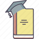 book, education, knowledge, learning, library, study, university icon