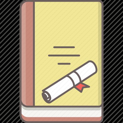 book, degree, education, knowledge, reading, study, university icon