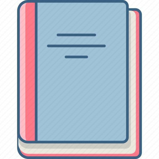 address, book, education, knowledge, library, reading, study icon