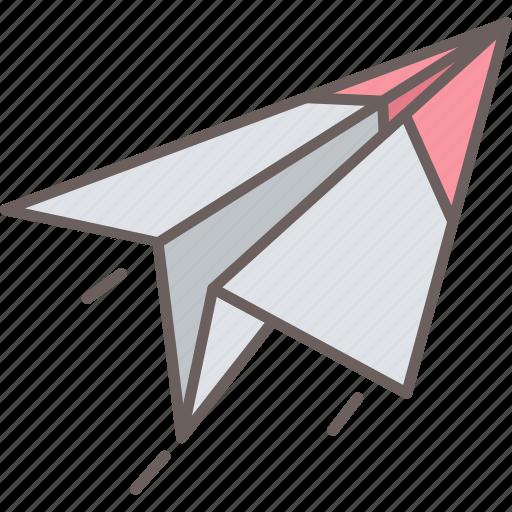 paper, plane, post, send icon