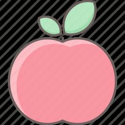 apple, food, fruit, health icon