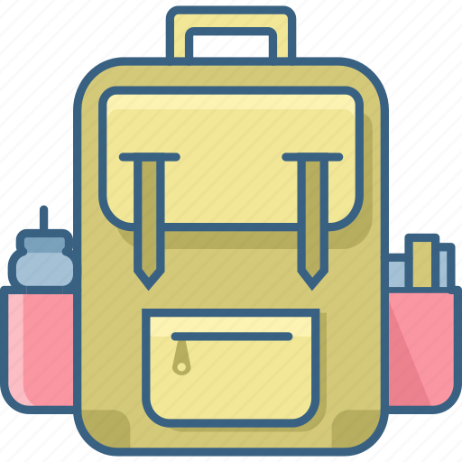 Bag, school, education, knowledge, learning, student, study icon - Download on Iconfinder