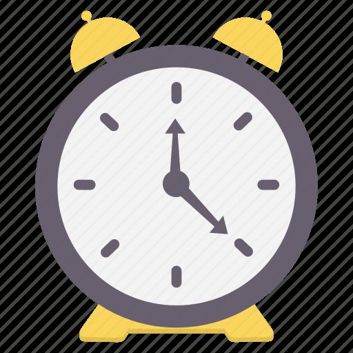 alarm, alert, bell, punctuality, puntual, time, warning icon