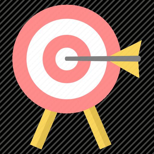 aim, bullseye, dartboard, focus, goal, success, target icon